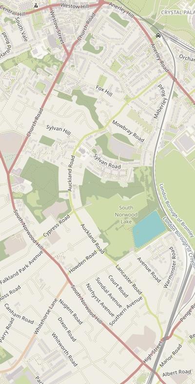 OpenStreetMap Humanitarian map of CP-LTN
