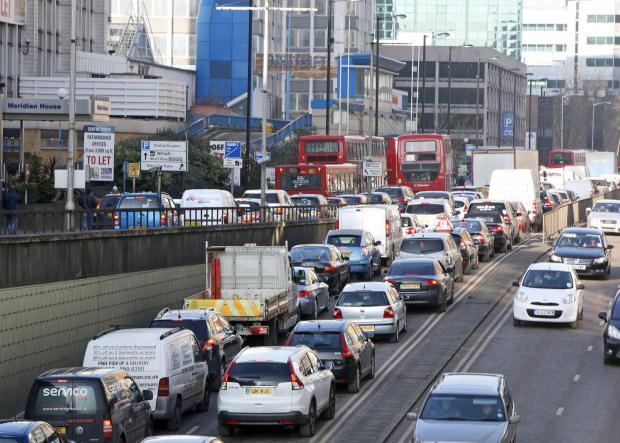 Wellesley Road traffic
