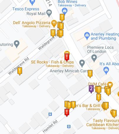 Crashmap Hamlet Road 2015-2019